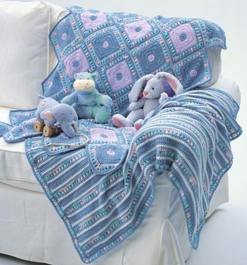 Harlequin Blanket - Free Pattern
