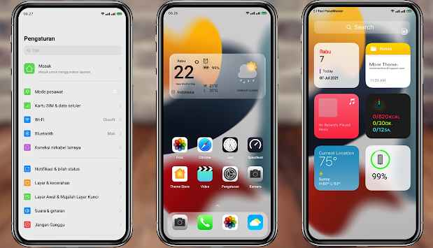 Download Tema iOS | iPhone 15.1 Untuk Oppo dan Realme