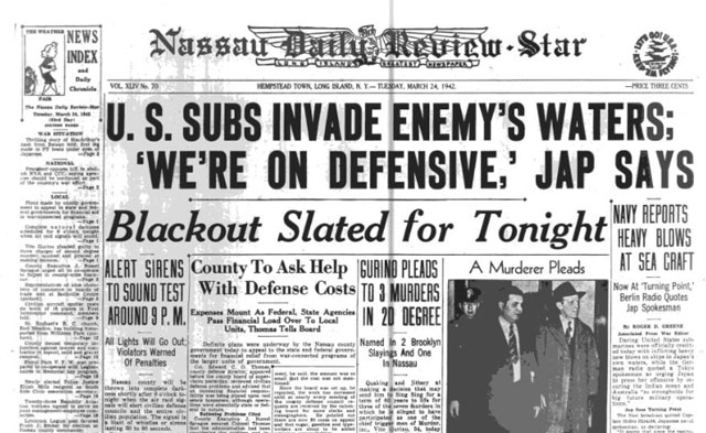 Nassau Daily Review-Star 24 March 1942 worldwartwo.filminspector.com