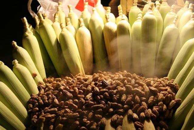 kacang rebus jagung rebus