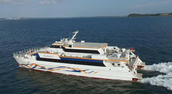 Mengenal Kapal Blue Sea Jet 1 Yang Akan Melayani Rute Bawean Gresik
