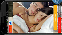 intimate couples photo with mobile privacy