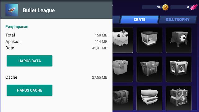 Total Size Game Android Bullet League 2D Royale Platformer