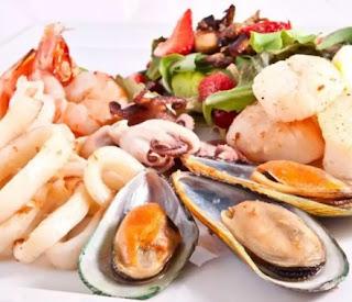 مطعم بحار المأكولات البحرية بجميع أنواعها