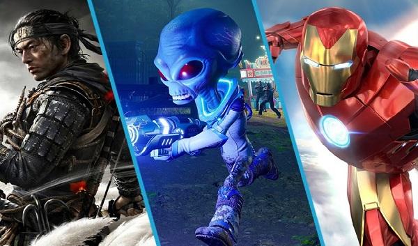 ألعاب شهر يوليو 2020 ، إليكم قائمة أهم إصدارات الشهر
