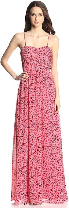 Good Quality Chiffon Strapless Maxi Dresses
