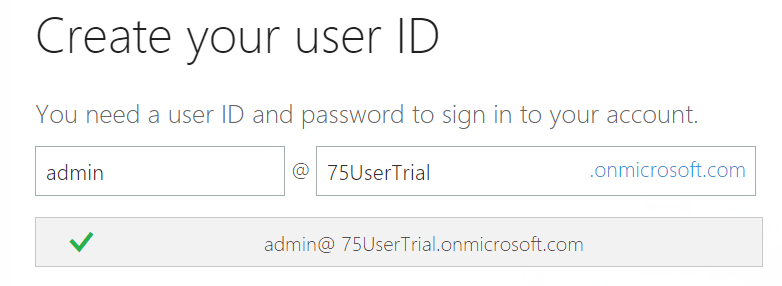 microsoft office trial without credit card