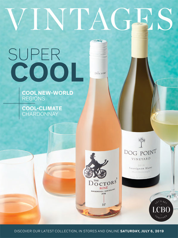 LCBO Wine Picks: July 6, 2019 VINTAGES Release