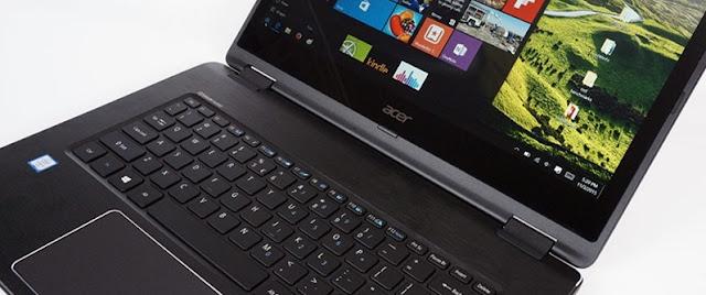 Harga Laptop Acer Aspire R14 R5-471T Tahun 2017 Lengkap Dengan Spesifikasi, Laptop 2 in 1 Bisa Menjadi TAB