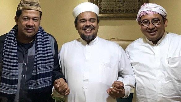 Catatan Fahri Hamzah Usai Pertemuan dengan HRS di Makkah
