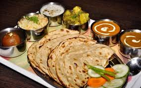 Indian vegan healthy and easy to cook indian vegetable food indian people dinner menu is warm milk and bhakhari also including of different types of salad and raita forumfinder Image collections
