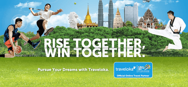 Traveloka Official Online Travel Partner Sukan SEA 2017, KL2017,