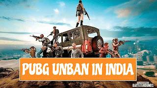 Is PUBG Unban in India