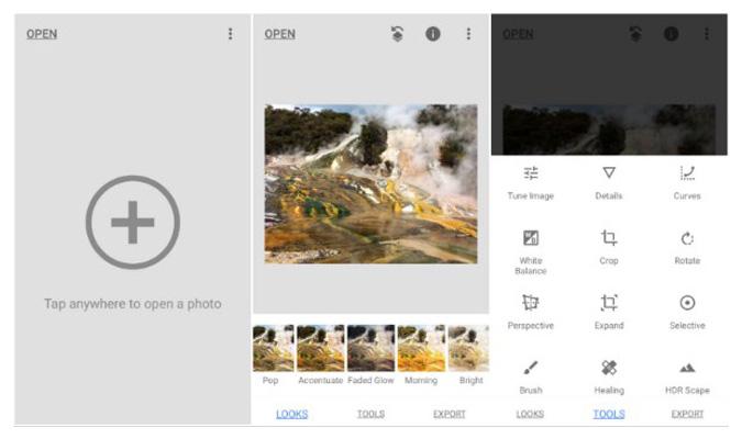 Cara Mudah Hapus Objek tak Diinginkan dari Foto - Snapseed