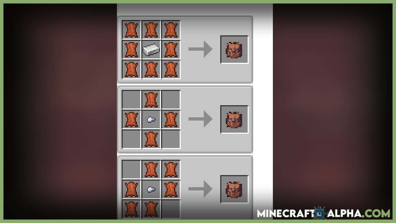 Minecraft ExtraSpace Mod Crafting Recipes