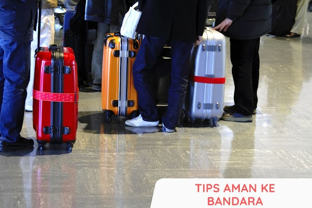 tips aman ke bandara saat ppkm