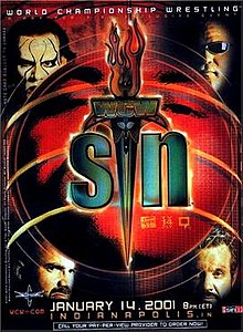 WCW Sin 2001 Review - Event poster
