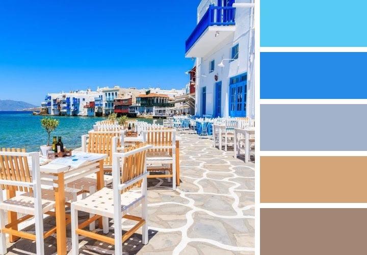 Color Scheme Blue
