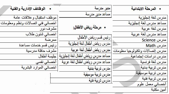 مدارس النيل المصرية تعلن حاجتها الى مدرسين ومدرسات واداريين بالمحافظات للعام الدارسى 2019 / 2020