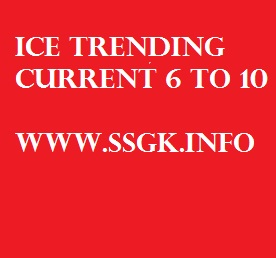 ICE TRENDING CURRENT AFFAIRS 6 TO 10