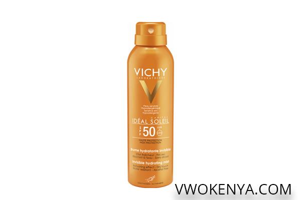 Xịt chống nắng Ideal Soleil Face Mist cho da dầu (SPF50 PA+++)