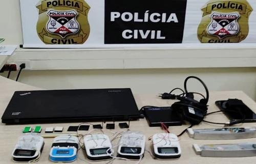 Polícia Civil prende homem com aparelhos Chupa-Cabras em Porto Velho