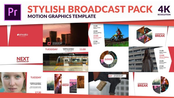 Videohive - Clean TV - Stylish Broadcast Pack - 22056227