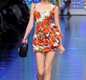 vestidos de dolce & gabbana 2012