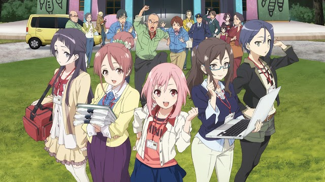 Sakura Quest (Episode 01 - 25) BD Batch Subtitle Indonesia