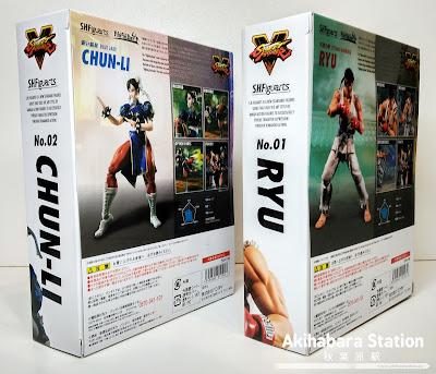 """Review de los S.H.Figuarts """"Ryu"""" y """"Chun-li"""" de Street Fighter."""