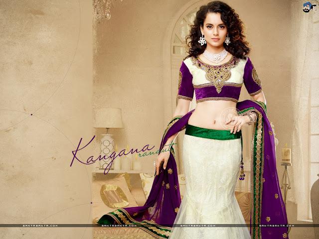 angana Ranaut Hot and Sizzling Wallpaper
