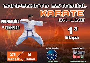 Campeonato Estadual de Karate On-Line - 1ª Etapa