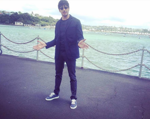 Spotted: Siddharth Malhotra in Alberto Torresi Shoes