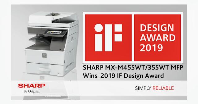 Sharp has won IF Design Award 2019.