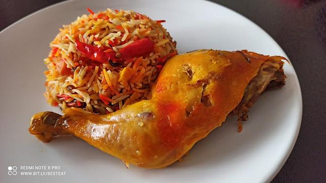 Syrian House Menu - Chicken Mandi