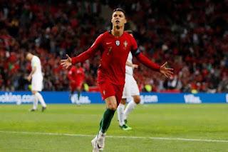 Ronaldo for Portugal