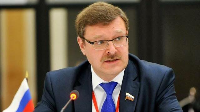 Senador ruso pide sancionar a EEUU por agresiones contra Venezuela