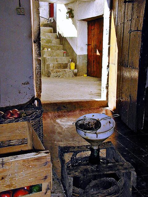 Patio de casa Román