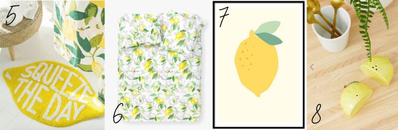 Trend Watch Lemon Print The Robyn Diaries