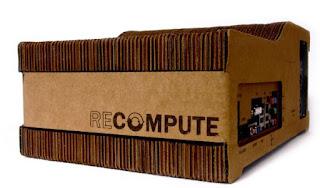 recompute: PC con case in cartone ondulato