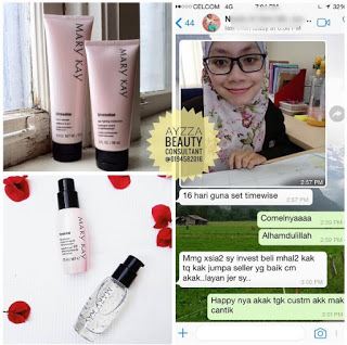 Mary kay testimoni timewise set anti penuaan