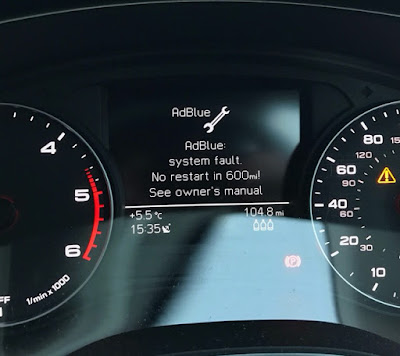 Audi AdBlue error