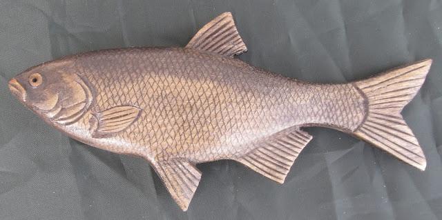 деревянные рыбы России - налим