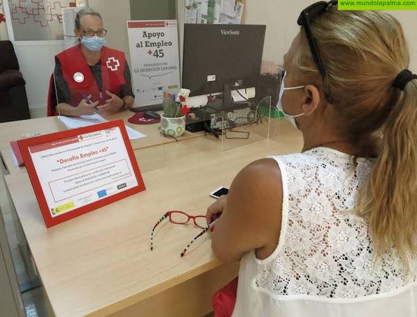 Cruz Roja continúa apoyando a las personas mayores de 45 años en su búsqueda de empleo