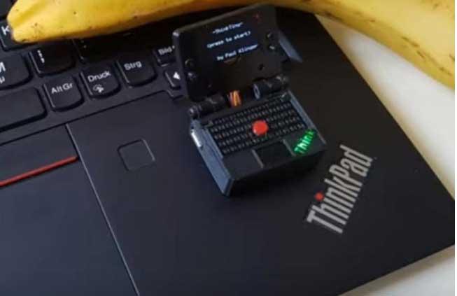 ThinkTiny, Laptop Gaming Terkecil di Dunia