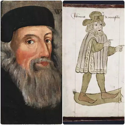Two prose writers of the middle English period, who claim some attention are Sir John Mandeville and John Wycliffe.