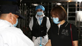 China has reported 101 new cases of the novel coronavirus - the highest number