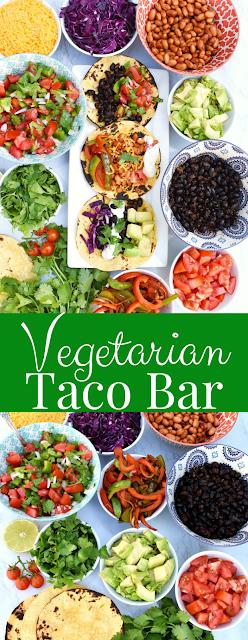 Vegetarian Taco Bar party