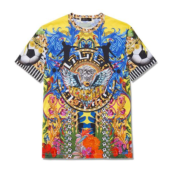 Versace selling outrageous £410 World Cup T-shirt, because why not?