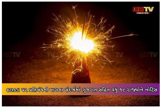 Notice to 18 more states including Gujarat regarding demand for ban on fireworks